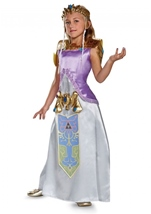 Zelda Deluxe Girls Costume
