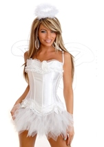 Sexy Angel Womens Corset Costume