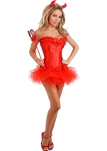 Sexy Devil Womens Costume