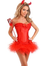 Sexy Devil Womens Halloween Costume