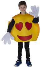 Hearts Smiley Unisex Kids Costume
