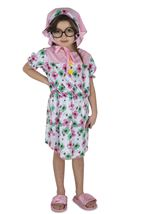Girls Lil Granny Kids Costume