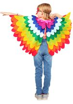Colorful Parrot Unisex Kids Costume