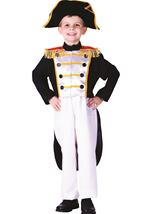 Historical Colonial General Boys Costume