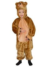 Cuddly Brown Bear Plush Costume