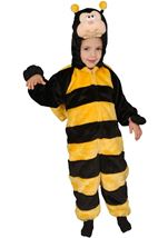Little Honey Bee Plush Kids Costume