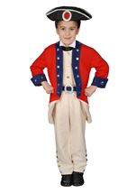 Deluxe Historical Colonial Boys Costume