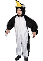 Plush Penguin Unisex Kids Costume