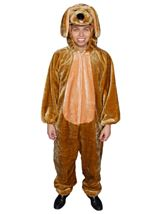 Brown Puppy Unisex Adults Costume