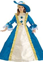 Blue Princess Girls Deluxe Costume