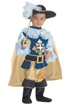 Deluxe Musketeer Boy Costume