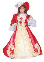 Noble Lady Girls Medieval Deluxe Costume