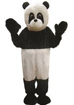Panda Mascot Unisex Adults Costume