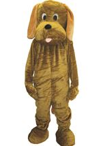 Puppy Mascot Unisex Adults Costume