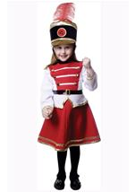 Kids Parade Drum Majorette Girl Costume