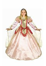 Castle Princess Girls Deluxe Costume