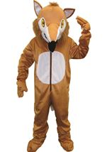 Furry Fox Mascot Unisex Kids Costume