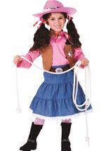 Junior Cowgirl Girls Costume