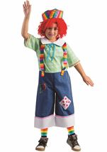 Rainbow Rag Boys Costume