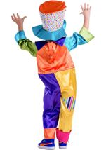 Kids Circus Clown Child Costume