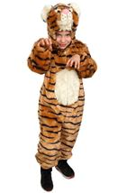 Striped Tiger Plush Deluxe Costume