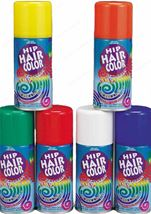White Hair Spray