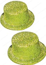Adult Glitter Top Hat Gold