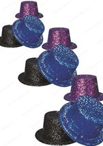 Glitter Top Hat Purple