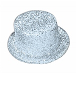 Adult Deluxe Glitter Top Hat