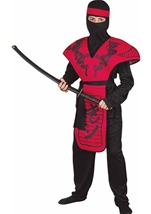 Dragon Ninja Warrior Boys Costume