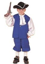 Colonial Boy Kids Halloween Costume