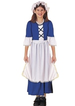 Colonial Girl Early American Costume