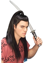 Asian Warrior Men Wig