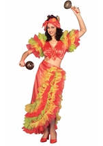Latin Dancer Women Costume