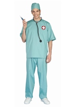 Surgical Scrub Unisex Doctor Costume
