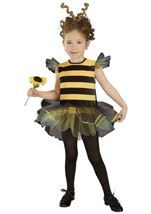 Girls Buzzy Bee Toddler Costume