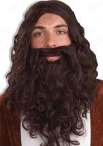 Jesus Biblical Wig Set