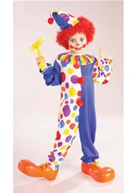 Classic Kids Unisex Clown Costume