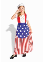 Betsy Ross Girls Patriotic Costume