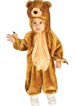 Teddy Cuddly bear Kids Costume