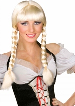 Inga Wig Blonde Costume