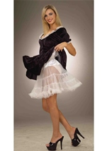 Woman Petticoat White