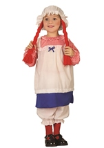 Rag Doll Girls Toddler Costume
