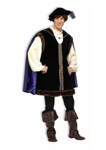 Noble Lord Renaissance Men Costume