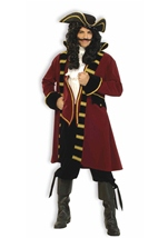 Pirate Captain Deluxe Men Costume