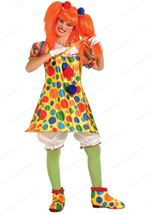 Women Giggles The Clown Costume