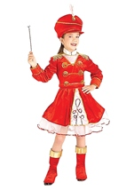 Drum Majorette Girls Costume