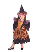Storybook Witch Girls Deluxe Halloween Costume