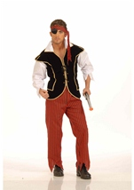 Pirate First Mate Men Costume