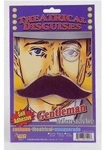 Gentleman Black Moustache